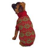 East Side Collection Urlaub Schneeflocke Pullover, klein, rot (Roten Schneeflocken Urlaub-pullover)