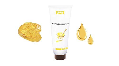 Sulfur Cream 10% | Incredible Cream for Dry Skin Conditions | Alleviates  Acne, Rosacea, Psoriasis, Dermatitis, Blemishes, Blackheads, Seborrheic  Skin,
