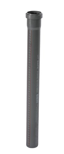 Ostendorf HTsafe HT-Rohr mit Muffe DN 50 mm 1500 mm