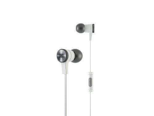 JBL Synchros E10 In-Ear Kopfhörer Ohrhörer (leichter, mit Integrierter Universal 1-Taster-Fernbedienung/Mikrofonsteuerung, Trageetui, geeignet für Apple iOS/Android Geräten) weiß (Synchros Jbl Ohrhörer)