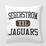 Preisvergleich Produktbild Yourway Chic Throw Pillow Segerstrom Jaguars Athletics Cushion Cover