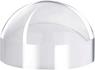 Ylucky 50 x optical grade dome lupe schreibtisch lese loupe briefbeschwerer 25 mm optische halbkugellinse schreibtisch karte vergrößerungsspiegel runde form lesehilfe hand poliert druckt zeitungen -