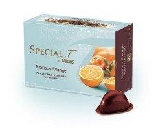 Special T - Rooibos Bourbon Orange - 10 Capsules Rooibos parfumé - 100% origine Nestlé - pour Special.T machinea the / thé / tea