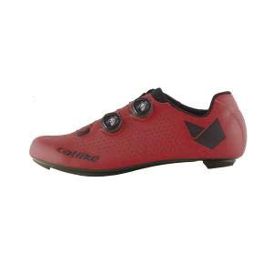 Catlike Zapatillas Carretera Whisper Oval Carbon Rojo - Talla: 43