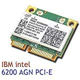 Intel Wireless-n Adapter (Intel 6200 622ANHMW AGN 802.11n Wireless N Half Mini Card für IBM T510 X201 T410)