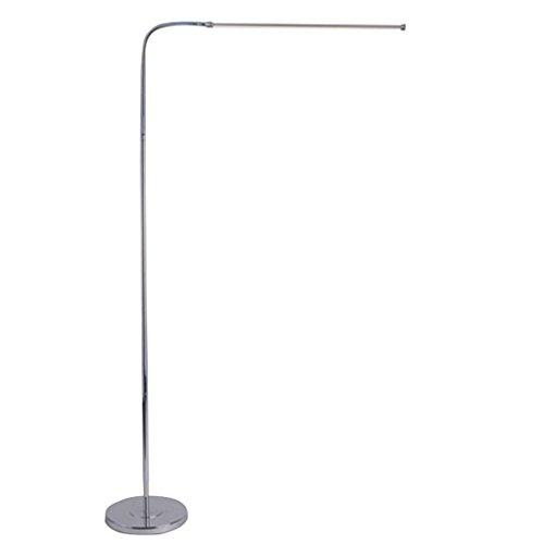 *Stehlampe Moderne 9W 12W 15W LED Stehleuchte Ferneinstellbare Licht Stent Lampe Wohnzimmer Klavier Lesung Standard Beleuchtung Stehlampe gewölbt (ausgabe : Remote control-9W)