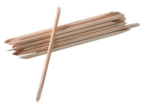 ATNails 20 x Wooden Double Ended Cuticle Pushers Manicure Sticks