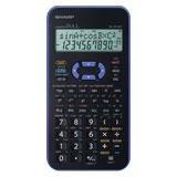 Sharp EL-531 XH VL Violett Schulrechner i.MP3-Look Batteriebetrieb