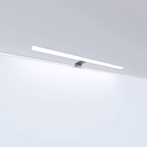 LED Badleuchte Badlampe Spiegellampe Spiegelleuchte Schranklampe Aufbauleuchte, Farbe:tageslichtweiss, Länge:600mm