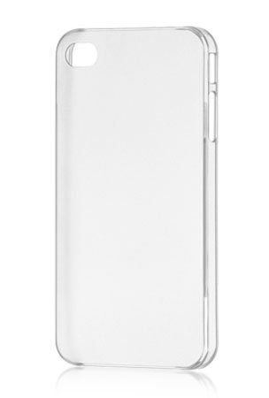 Imported Hard Back Case Cover for Apple iPhone 4/4S (Crystal Clear Transparent)