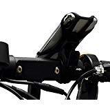 Quntion Fahrrad-Halterung, 360 Grad drehbar, Silikonband, universell verstellbar, für 10,2 cm bis 16,5 cm Handys