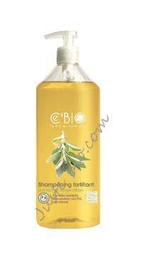 C'bio Shampooing fortifiant quinquina sauge citron 500ml