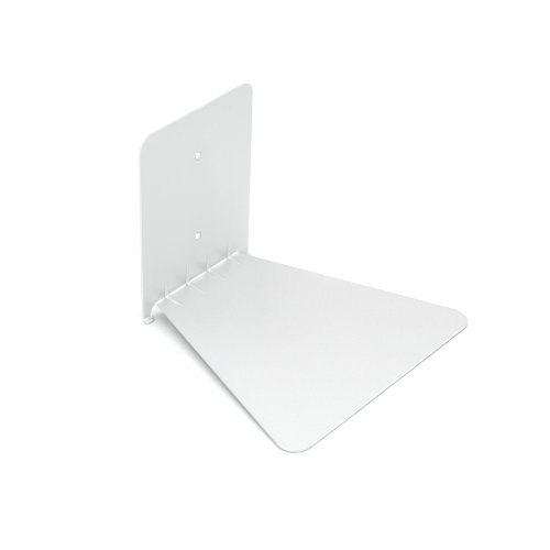 Umbra 330633-660 Conceal unsichtbares Bücherregal aus Metall, gross, weiss -