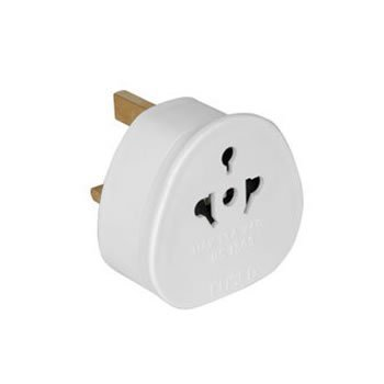 Jaccal European to UK Adapter EU to UK Plug Adaptor