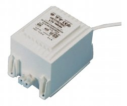 Heitronic Halogen-Sicherheitstrafo 12 Volt dimmbar 80-105 Watt