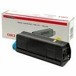 Preisvergleich Produktbild Lasertoner, für C-5100 / 5200 / 5300 / 5400, 5.000 Seiten, gelb