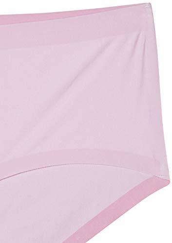 Schiesser Damen Panty Hipster, Rot (pink 504), 40 (Herstellergröße:040) - 2