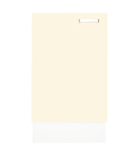 aadia DUV60 L Unterschrank Fresno, vanillecreme, 60 * 87 * 57 cm, Küchenunterschrank Küchenschrank Küche Küchenmöbel Einbauküche Küchenzeile Küchenblock Bad Büro Wohnen