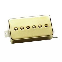 Seymour Duncan SPH90-1N Phat Cat (neck position) Gold cover