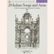 Preisvergleich Produktbild Noten + Playback-CD 28 ITALIAN SONGS & ARIAS (HIGH)