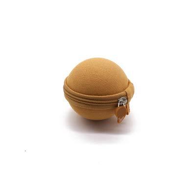 Tragbare Reisetasche für Schalter Aufbewahrungstasche Stoßfest Paket Schutzbox Schutzhülle für Switch NS Poke Ball Plus Tasche Braun -