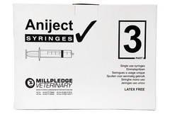Aniject 3Pt Syringe 1Ml 100'S by Aniject