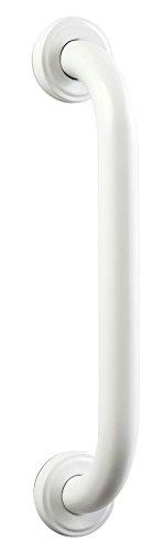 Bisk 04778 PRO Sicherheitshaltegriff 250 mm, 25 mm,  30.5 x 5.5 x 8 cm, Edelstahl Weiss
