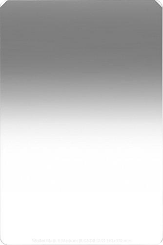 Rollei Profi Rechteckfilter Mark II - Grauverlaufsfilter (150x170 mm) mit mittlerem Verlauf aus Gorilla Glas - Medium GND 8 (3 Stops/0,9) 150 mm-System