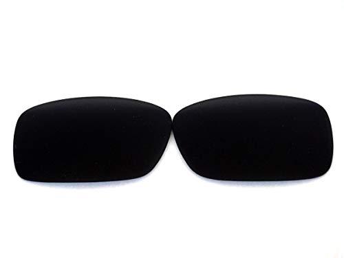Galaxylense Ersatzgläser für Oakley Crankcase für Männer oder Frauen Regular 55x1.5x36 Schwarz