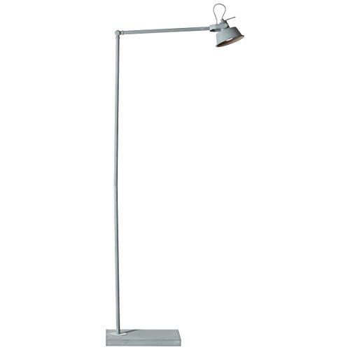 Lámpara de pie, 1 foco, 1 bombilla GU10 máx. 20 W, metal,...