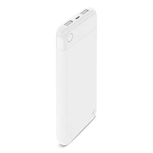 Belkin F7U065btWHT Boost Charge Ladegerät 10K (portables 10.000 mAh für Apple iPhone/iPad) Schwarz/Weiß