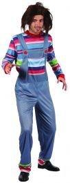 er Chuckie Erwachsene Herren Kostüm ()