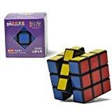 elegantstunning New, Shengshou V3Aurora (Jiguang) 3x 3x 3Speed Cube Puzzle 3x 3. Nero