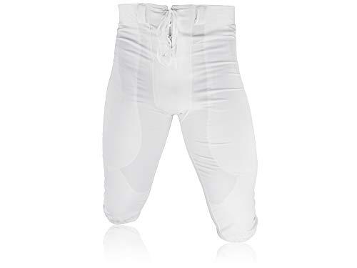 Full Force American Football Game Pants Lycra Stretch - weiß Gr. 4XL