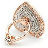 Owoda romantique coeur cristal en métal téléphone Support Bague anti goutte...