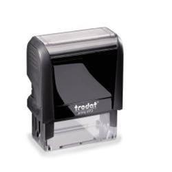 Büromaterial Original Trodat 4913 4.0 Eco-schwarz für ca. Seiten, 1 Stück, passend für