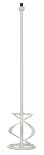 kwb Beton- und Mörtel-Rührer M14 für Bohrmaschine, Farb-Mischer mit Größe 120 x 590 mm, Rührstab geeignet für Gebinde von 10 - 15 Liter, mind. 700 Watt, Made in Germany