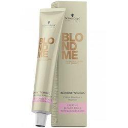 Schwarzkopf - Blondme White Blending Eis 60 ml Für perfekte Weißkaschierung, Aufhellung & Anti-Gelb-Effekt 60 ml