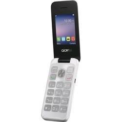 Alcatel 772297 6,09 cm (2,4 Zoll) 20.51, Mobilephone, 8GB Pure weiß