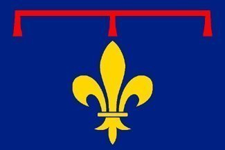 Région de Provence Drapeau France - 150 cm x 90 cm