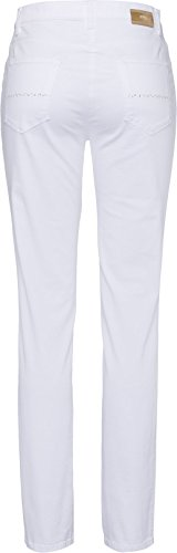 Brax Damen Slim Jeans Mary Brilliant White