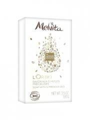 melvita-l-or-bio-sapone-con-5-precious-oils-100-g