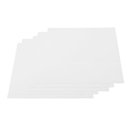 stik Platten Bastelplatte Zum Modellbau - Weiß, 200x250x1 ()