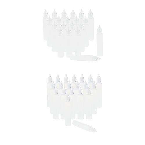 B Baosity Set 40x Compte-gouttes Flacons Compressible Vaporisateurs
