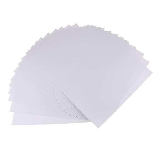 KESOTO Selbstklebende kaltlaminieren 25 Sheets Foto Film Sterne Magie 11,5x16,5