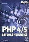 PHP 4/5 Befehlsreferenz, m. CD-ROM bei Amazon kaufen