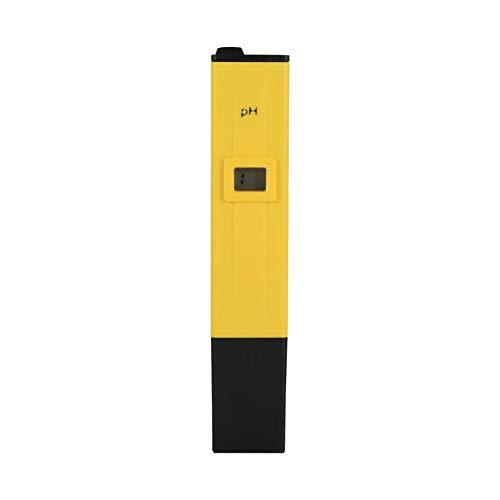 Zerodis Portable PH Meter Digital Tester LCD Pen Monitor für Wasser Pool Boden Hydrokultur Aquarium Bierbrauen Wein Lebensmittel Urin Labor Innen und Außenbereich
