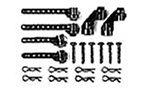 Preisvergleich Produktbild Tamiya 300050482 - D-Teile Karosserie-Halter TA01/TA02/FF01