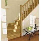 12 Tread Oak Straight Stair Kit