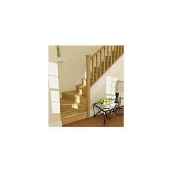 12 Tread Oak Straight Stair Kit